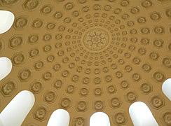 Роспись купола гостиницы