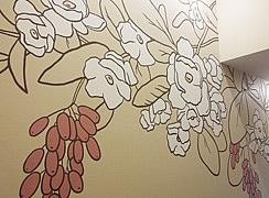 Роспись в салоне красоты