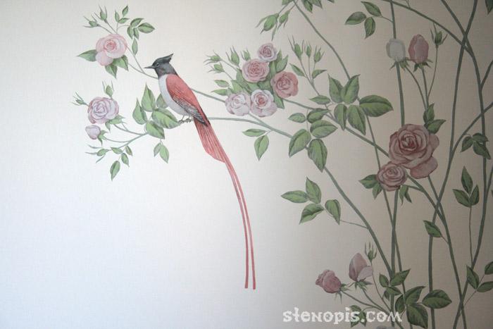 Обои для стен роспись